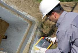 mantenimiento de pozo a tierra